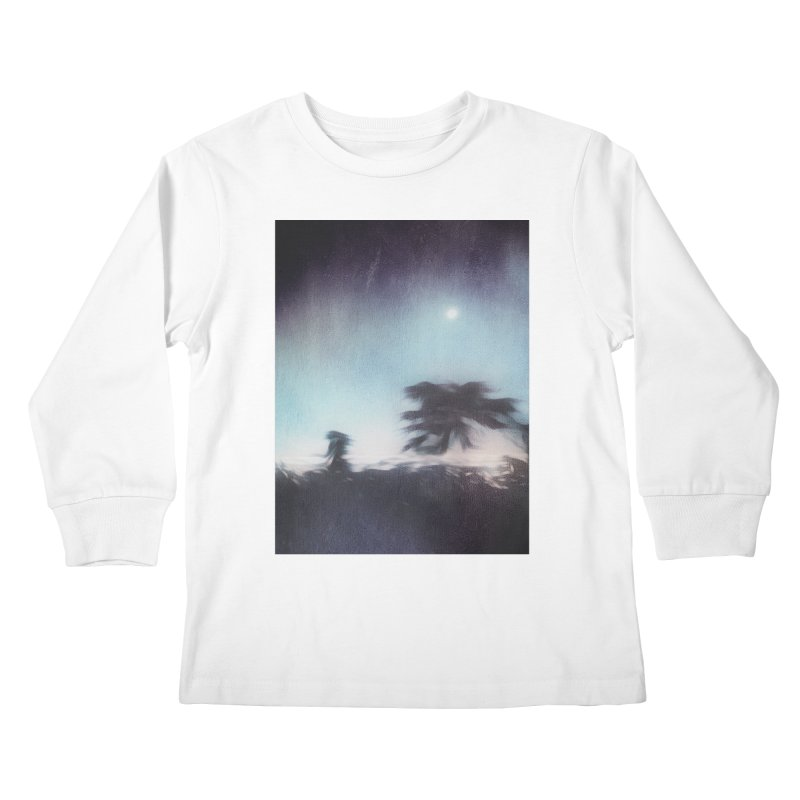 Keep Running. Kids Longsleeve T-Shirt by Andrea Snider's Artist Shop