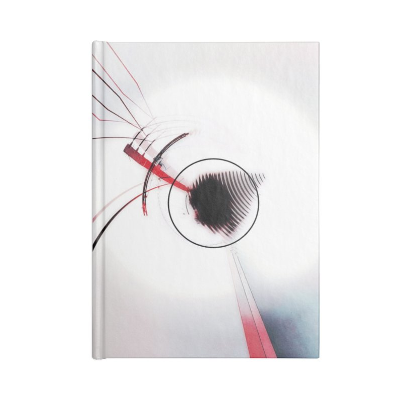 Eye of the Beholder. Accessories Lined Journal Notebook by Andrea Snider's Artist Shop