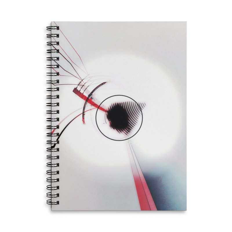 Eye of the Beholder. Accessories Lined Spiral Notebook by Andrea Snider's Artist Shop