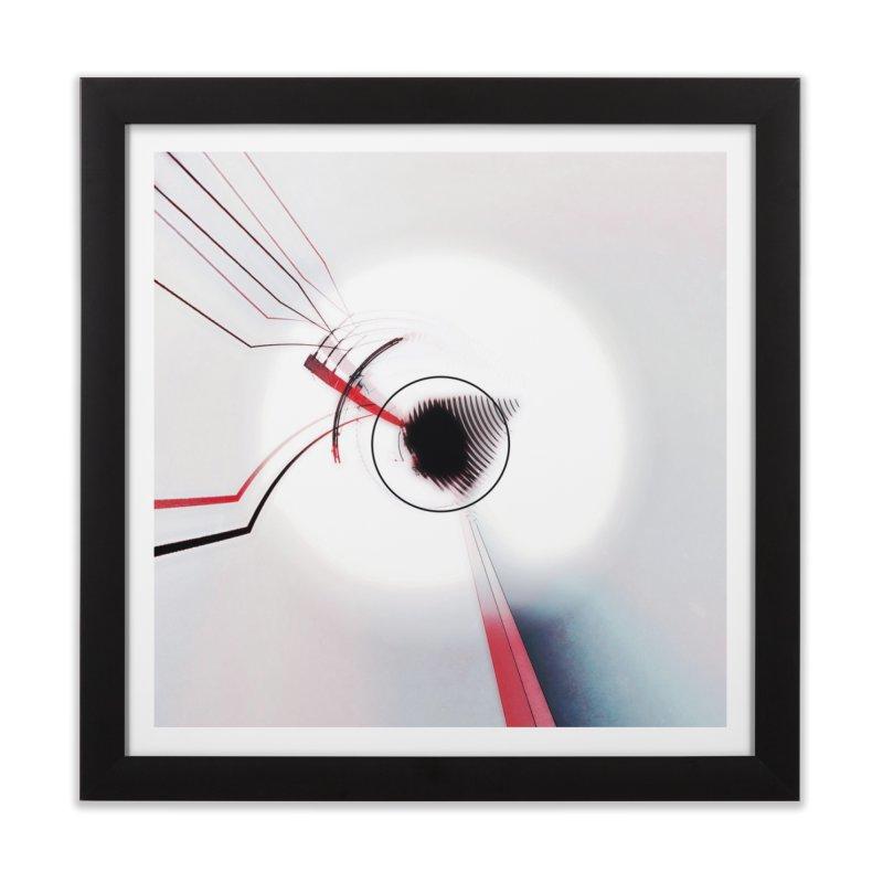 Eye of the Beholder. Home Framed Fine Art Print by Andrea Snider's Artist Shop