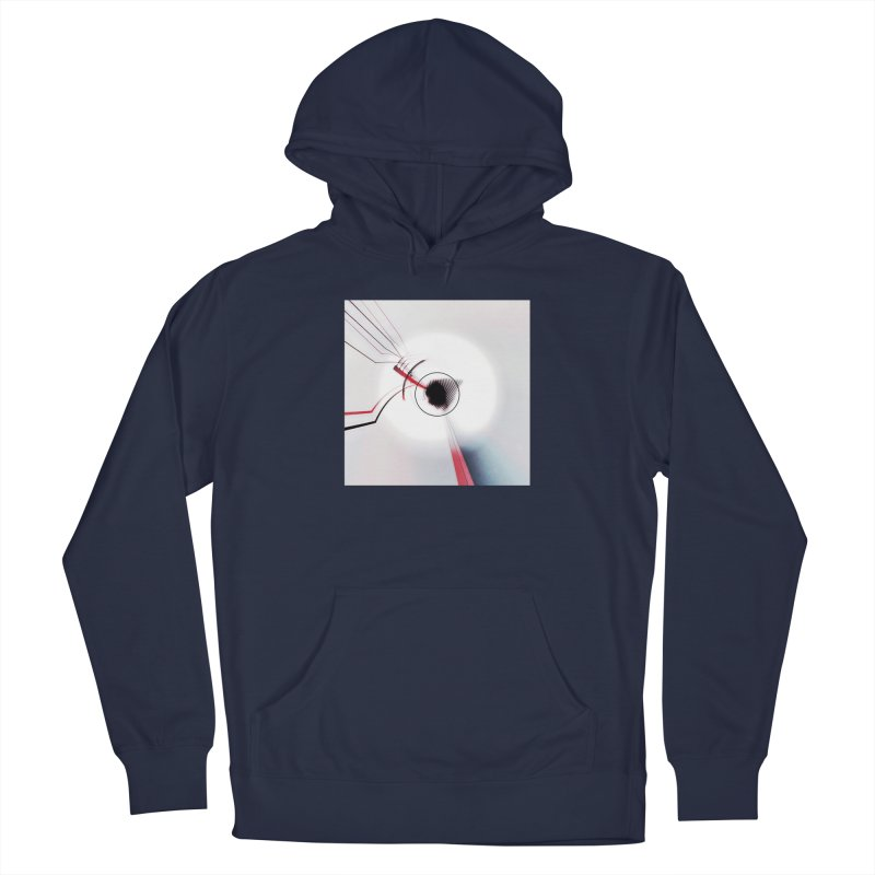 Eye of the Beholder. Men's Pullover Hoody by Andrea Snider's Artist Shop