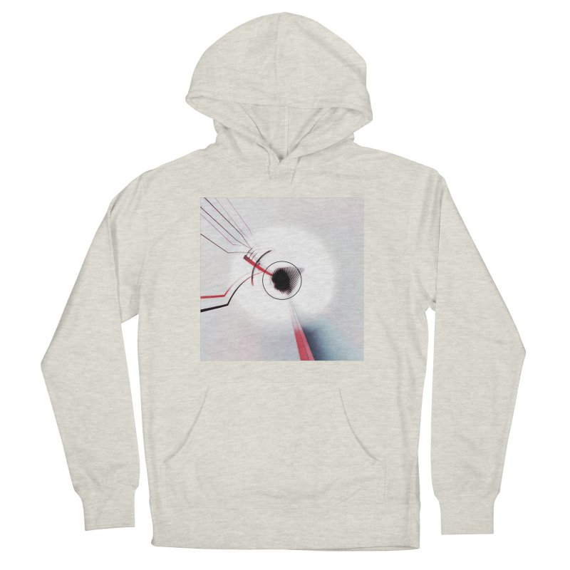 Eye of the Beholder. Men's French Terry Pullover Hoody by Andrea Snider's Artist Shop