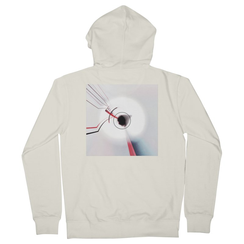 Eye of the Beholder. Women's French Terry Zip-Up Hoody by Andrea Snider's Artist Shop