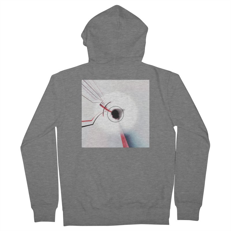 Eye of the Beholder. Men's Zip-Up Hoody by Andrea Snider's Artist Shop