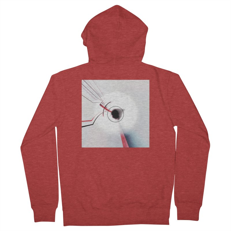 Eye of the Beholder. Men's French Terry Zip-Up Hoody by Andrea Snider's Artist Shop