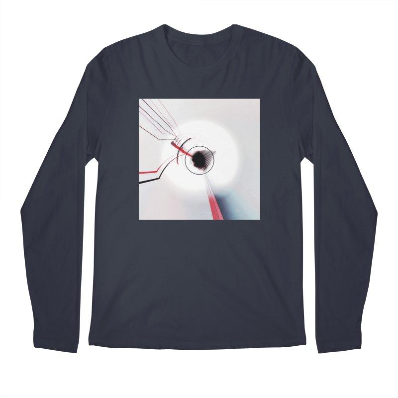 Eye of the Beholder. Men's Regular Longsleeve T-Shirt by Andrea Snider's Artist Shop