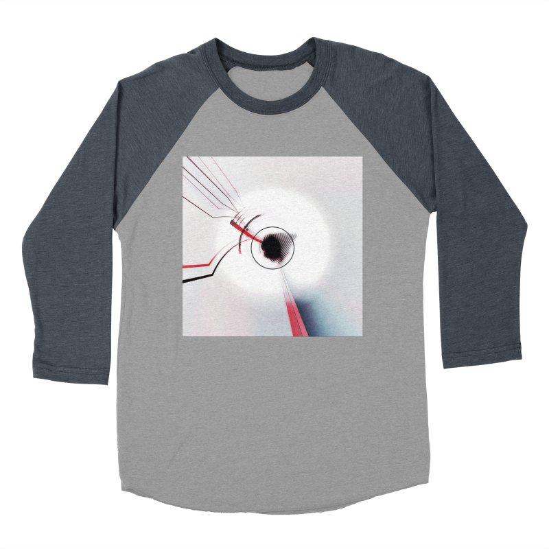 Eye of the Beholder. Men's Baseball Triblend Longsleeve T-Shirt by Andrea Snider's Artist Shop