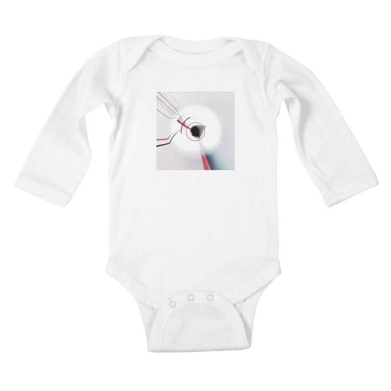 Eye of the Beholder. Kids Baby Longsleeve Bodysuit by Andrea Snider's Artist Shop