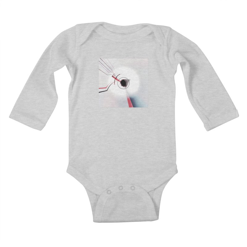 Eye of the Beholder. Kids Baby Longsleeve Bodysuit by Andrea Snider's Artist Shop