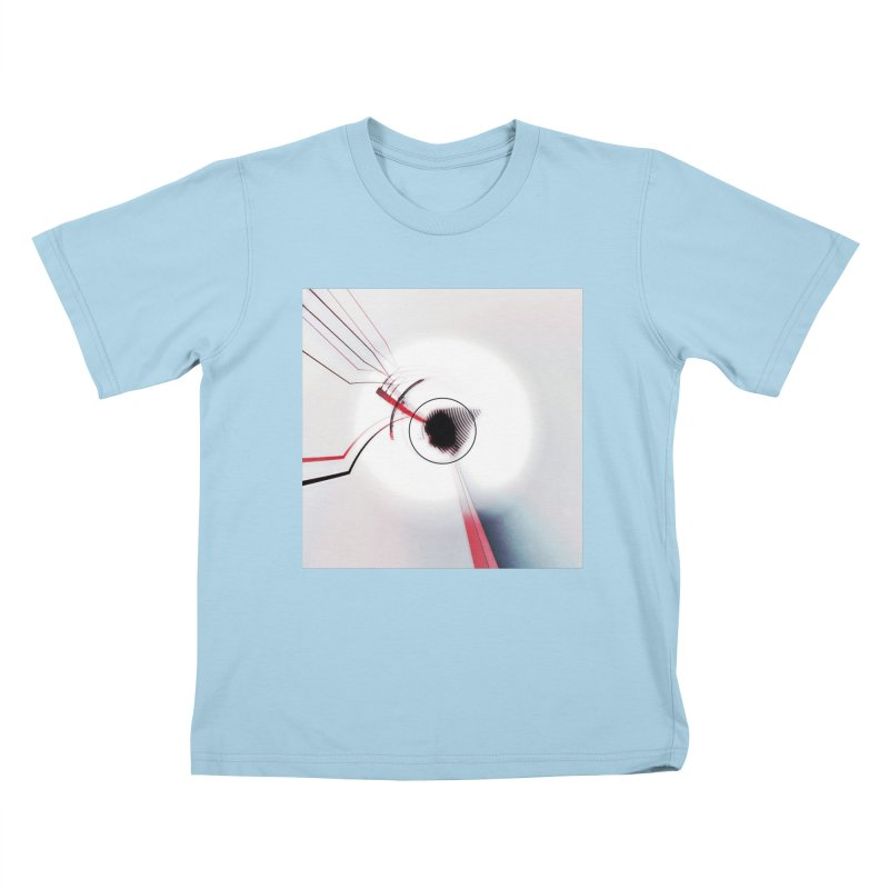 Eye of the Beholder. Kids T-Shirt by Andrea Snider's Artist Shop