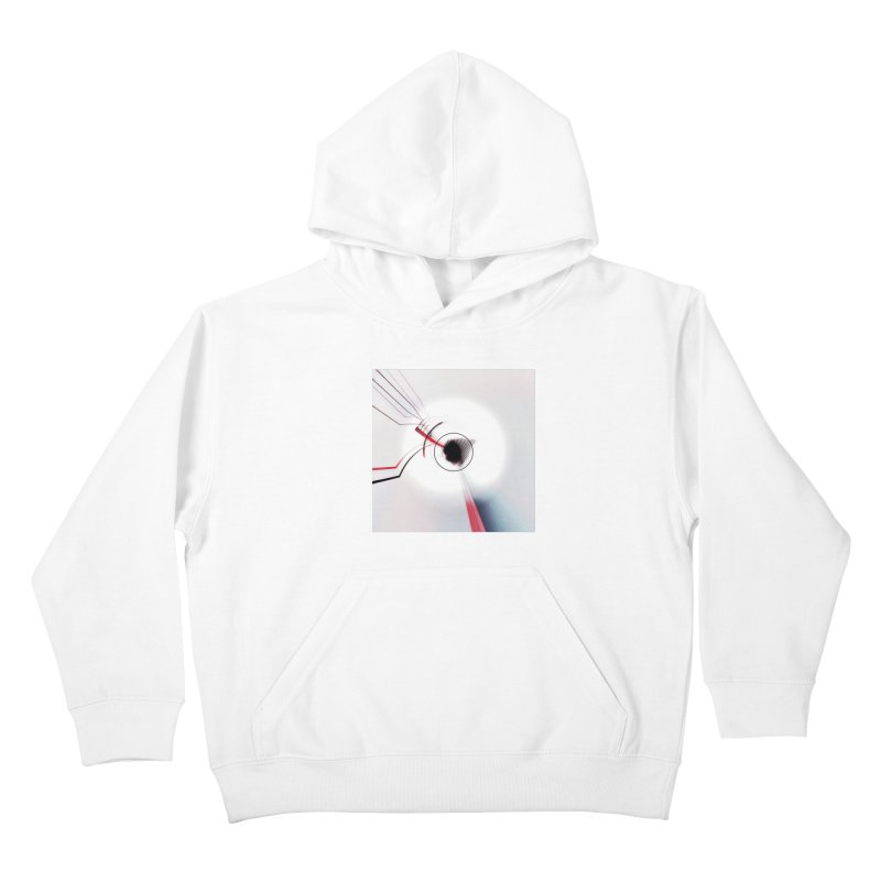 Eye of the Beholder. Kids Pullover Hoody by Andrea Snider's Artist Shop