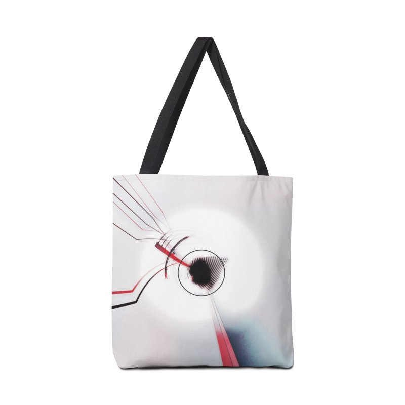 Eye of the Beholder. Accessories Tote Bag Bag by Andrea Snider's Artist Shop