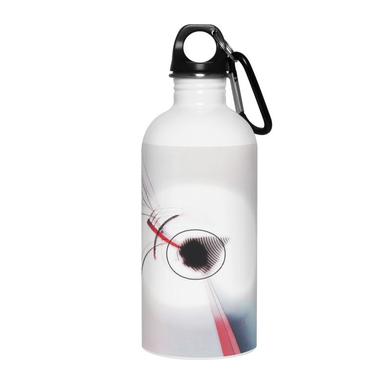 Eye of the Beholder. Accessories Water Bottle by Andrea Snider's Artist Shop
