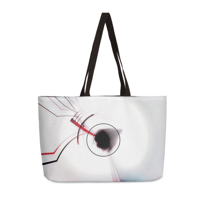 Eye of the Beholder. Accessories Weekender Bag Bag by Andrea Snider's Artist Shop