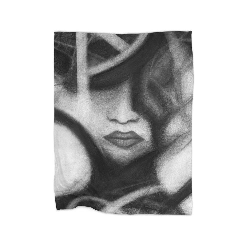 The Commander. Home Fleece Blanket Blanket by Andrea Snider's Artist Shop