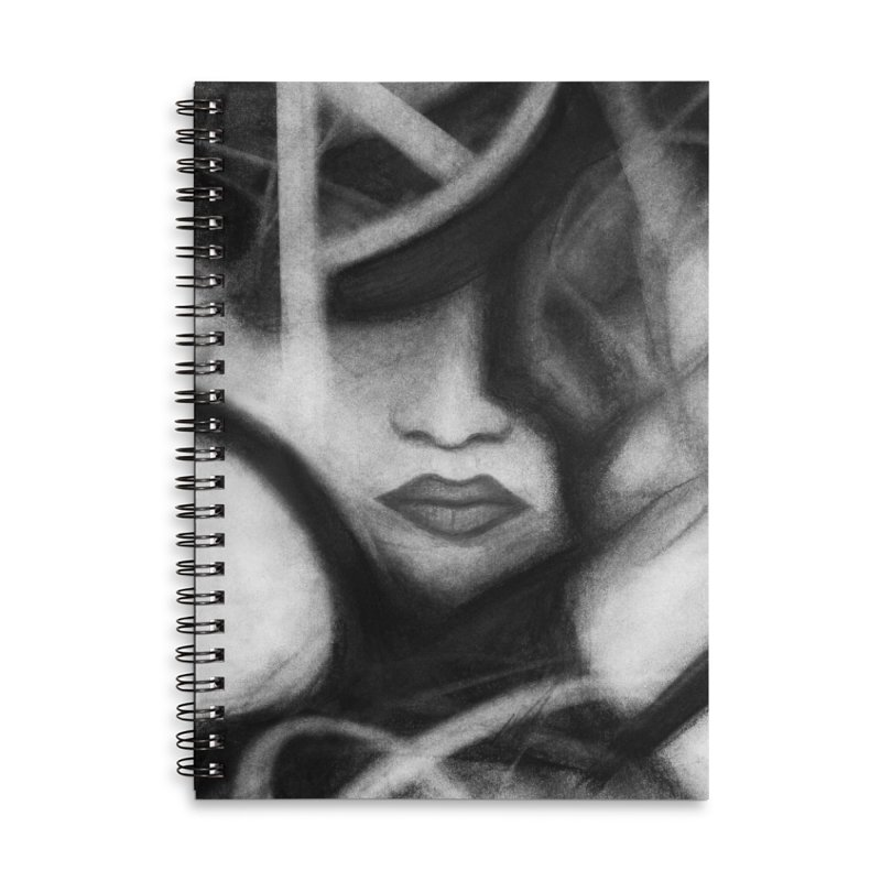 The Commander. Accessories Lined Spiral Notebook by Andrea Snider's Artist Shop