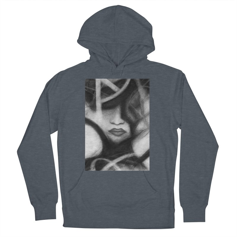 The Commander. Women's French Terry Pullover Hoody by Andrea Snider's Artist Shop
