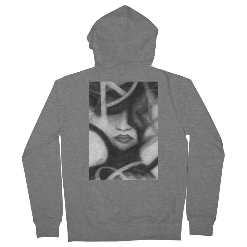 The Commander. Women's French Terry Zip-Up Hoody by Andrea Snider's Artist Shop
