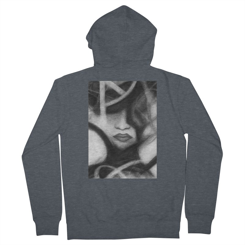 The Commander. Men's French Terry Zip-Up Hoody by Andrea Snider's Artist Shop