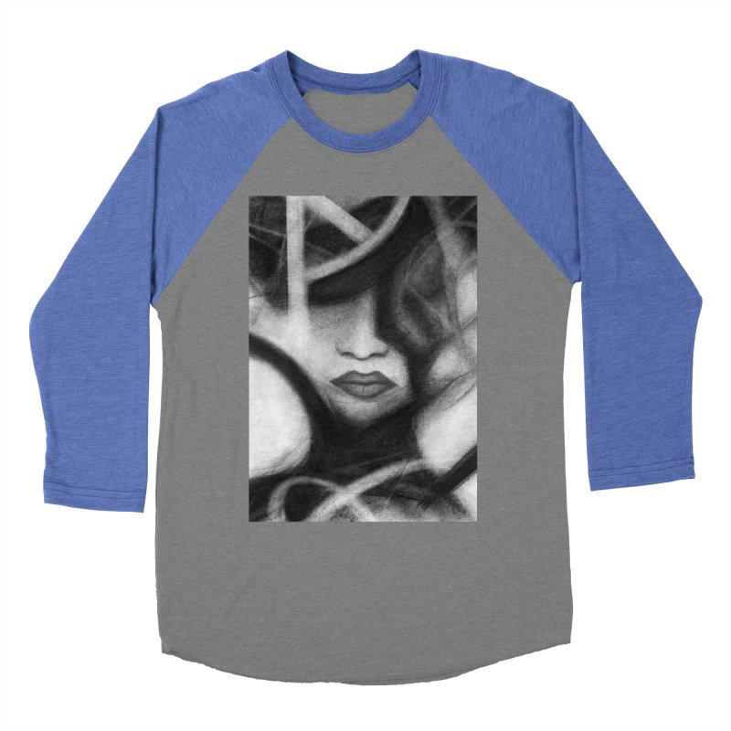 The Commander. Women's Baseball Triblend Longsleeve T-Shirt by Andrea Snider's Artist Shop