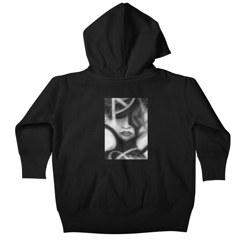 The Commander. Kids Baby Zip-Up Hoody by Andrea Snider's Artist Shop