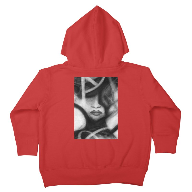 The Commander. Kids Toddler Zip-Up Hoody by Andrea Snider's Artist Shop