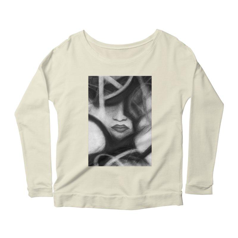 The Commander. Women's Scoop Neck Longsleeve T-Shirt by Andrea Snider's Artist Shop