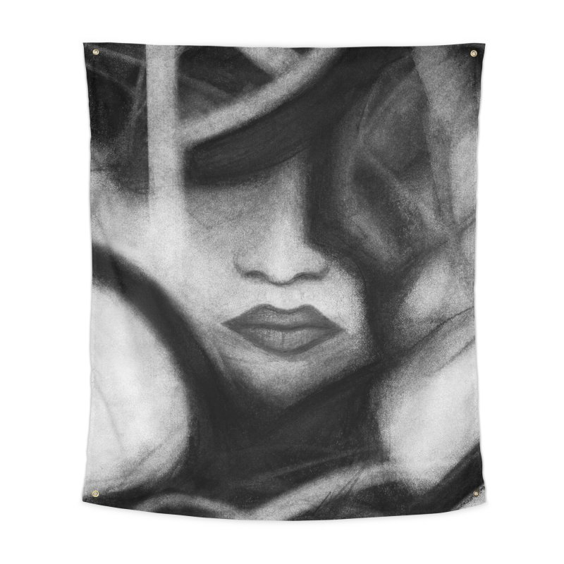 The Commander. Home Tapestry by Andrea Snider's Artist Shop