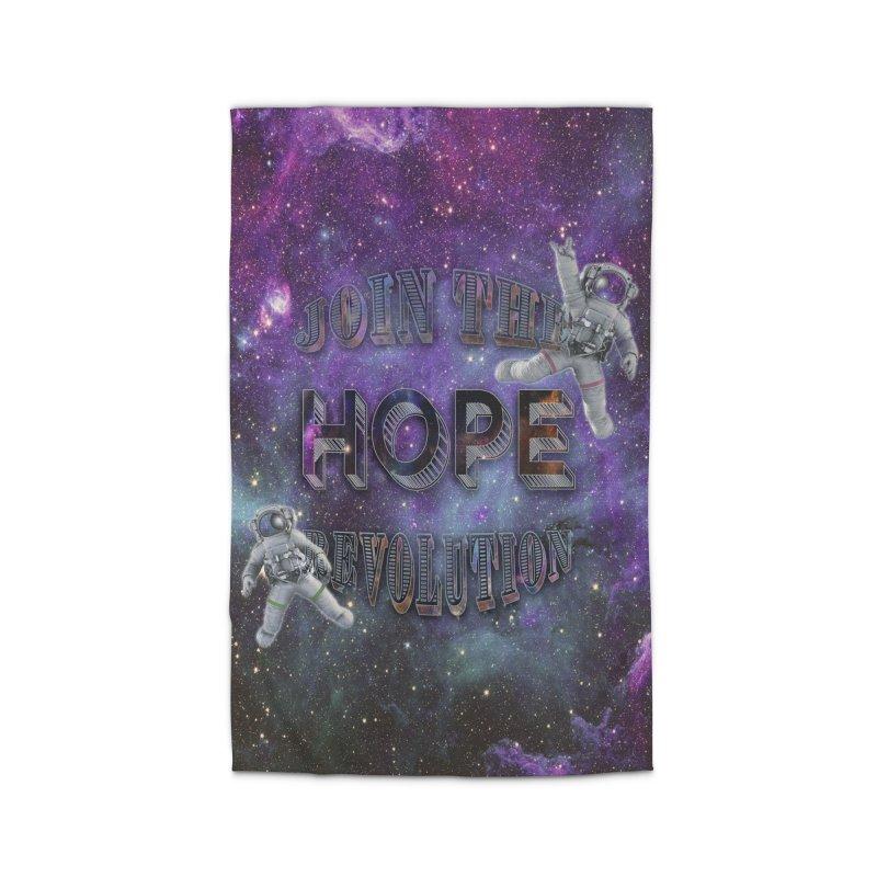 Hope Revolution. Home Rug by Andrea Snider's Artist Shop