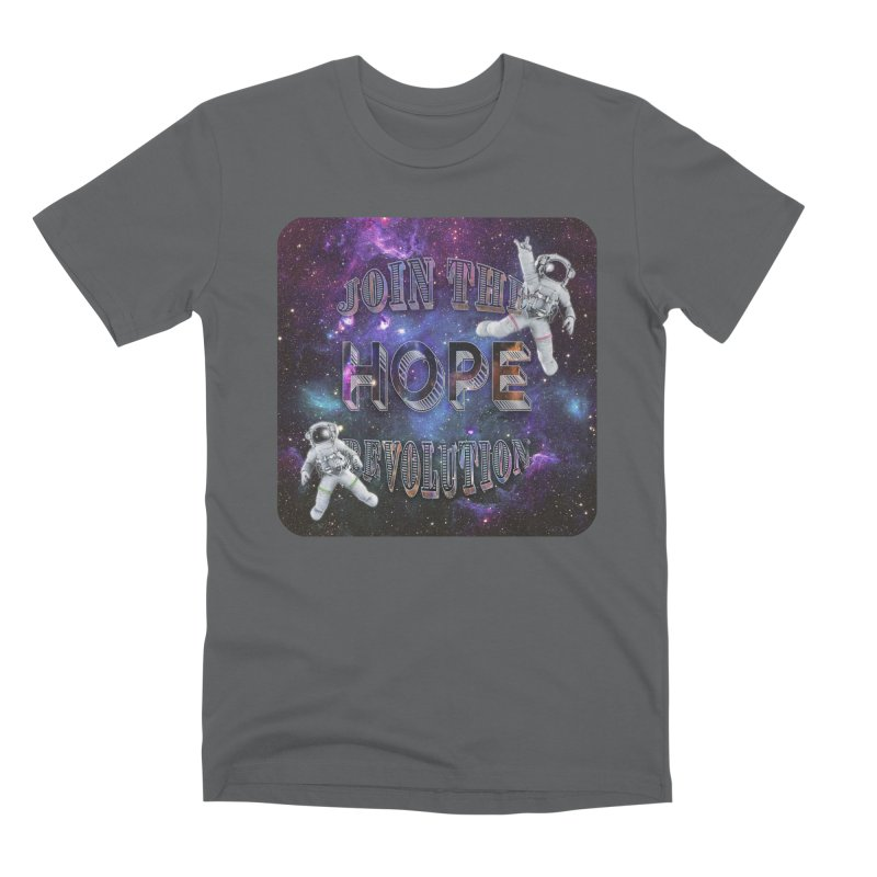 Hope Revolution. Men's Premium T-Shirt by Andrea Snider's Artist Shop