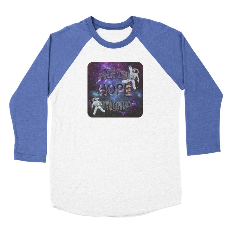 Hope Revolution. Women's Baseball Triblend Longsleeve T-Shirt by Andrea Snider's Artist Shop