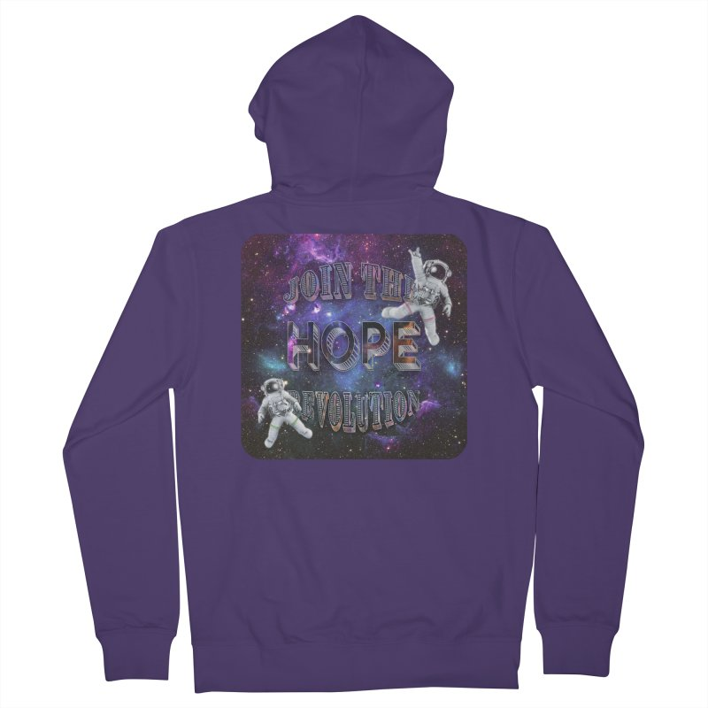 Hope Revolution. Women's Zip-Up Hoody by Andrea Snider's Artist Shop