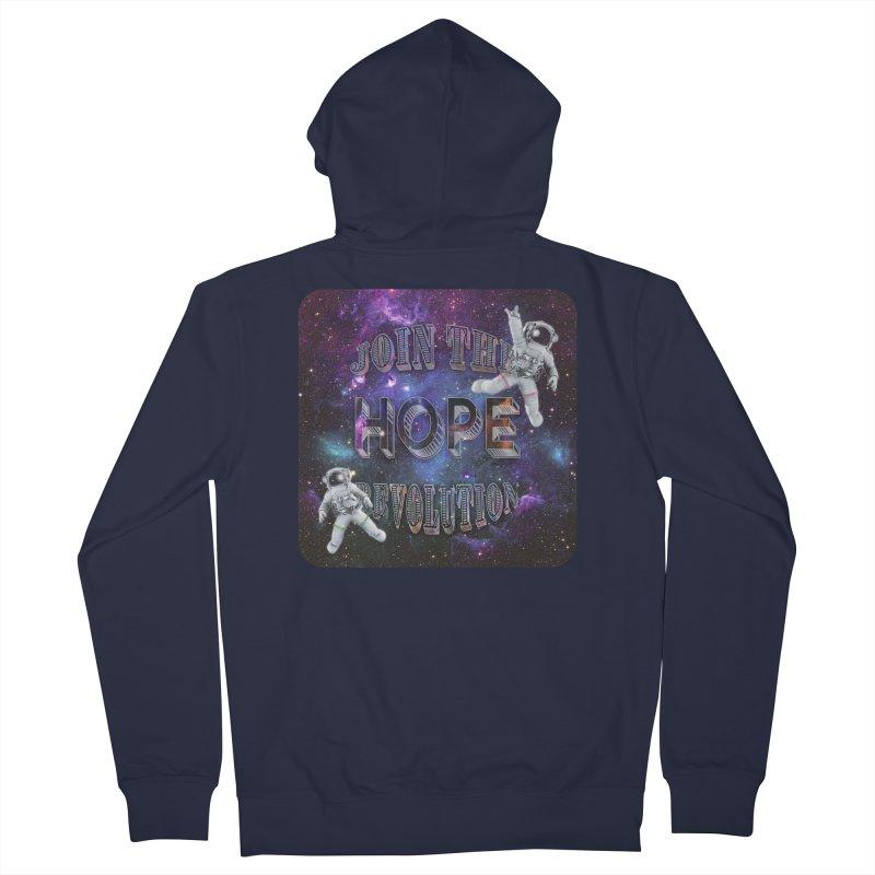 Hope Revolution. Women's Zip-Up Hoody by Andrea Snider's Artist Shop