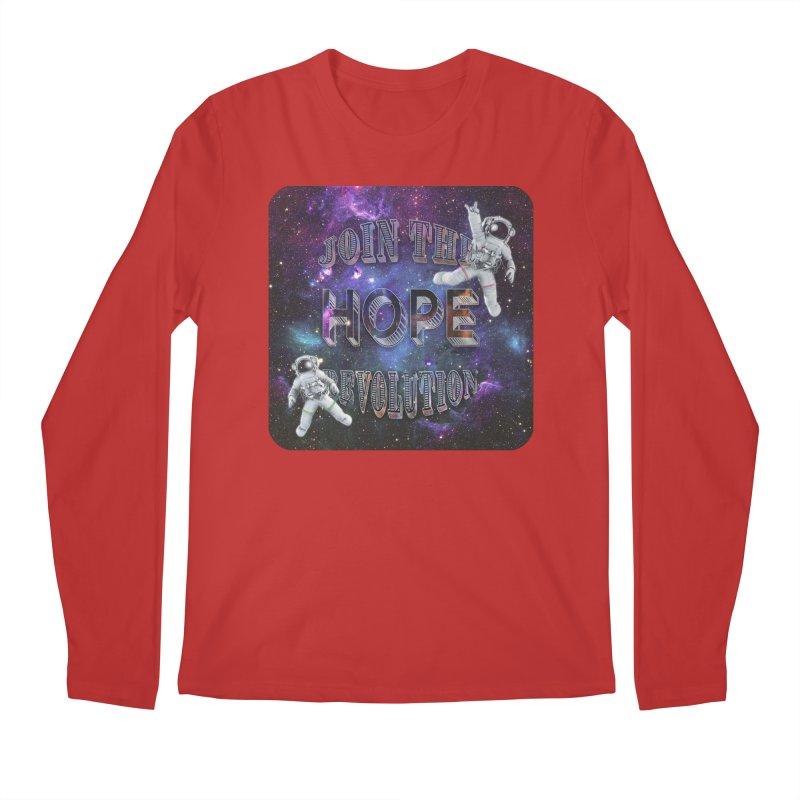 Hope Revolution. Men's Longsleeve T-Shirt by Andrea Snider's Artist Shop