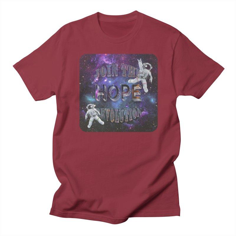 Hope Revolution. Women's Regular Unisex T-Shirt by Andrea Snider's Artist Shop