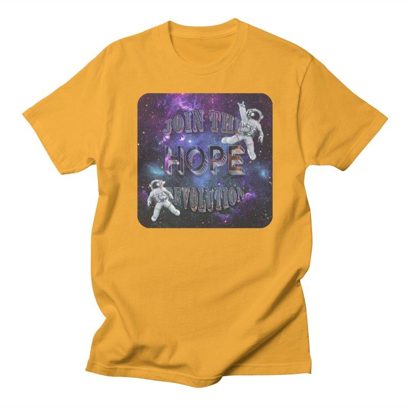Hope Revolution. Men's T-Shirt by Andrea Snider's Artist Shop