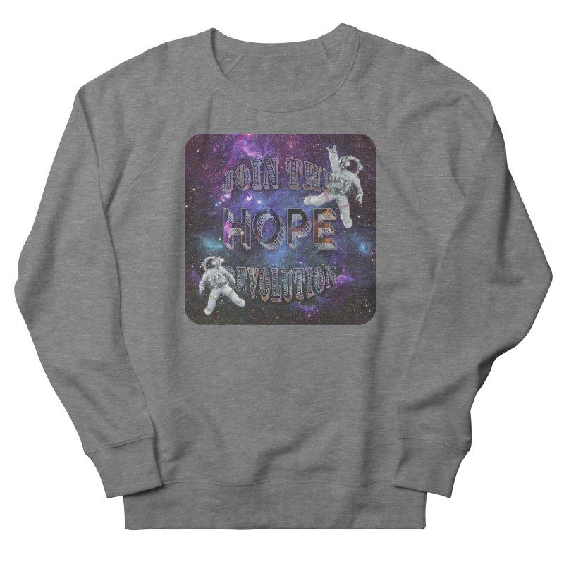 Hope Revolution. Men's Sweatshirt by Andrea Snider's Artist Shop