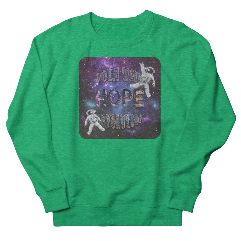 Hope Revolution. Men's Sweatshirt by Andrea Snider's Artist Shop