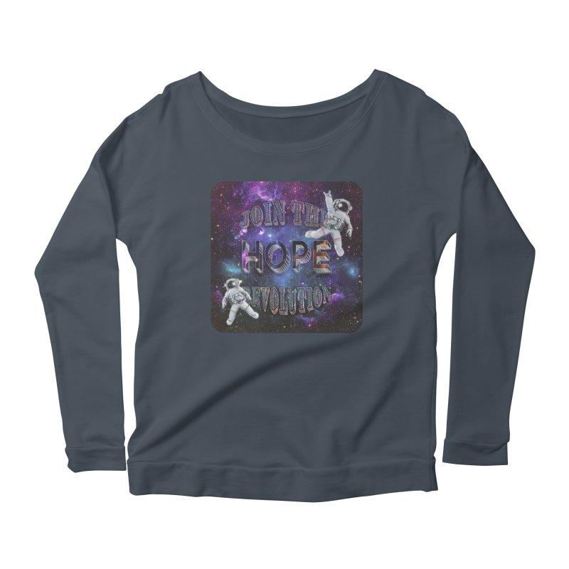 Hope Revolution. Women's Longsleeve T-Shirt by Andrea Snider's Artist Shop