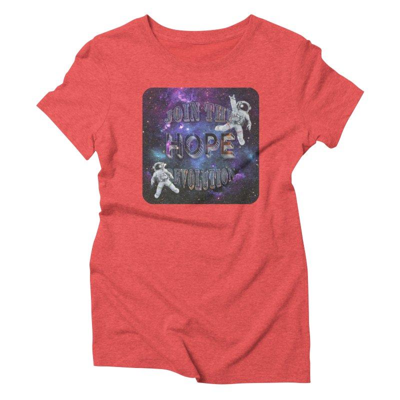 Hope Revolution. Women's T-Shirt by Andrea Snider's Artist Shop
