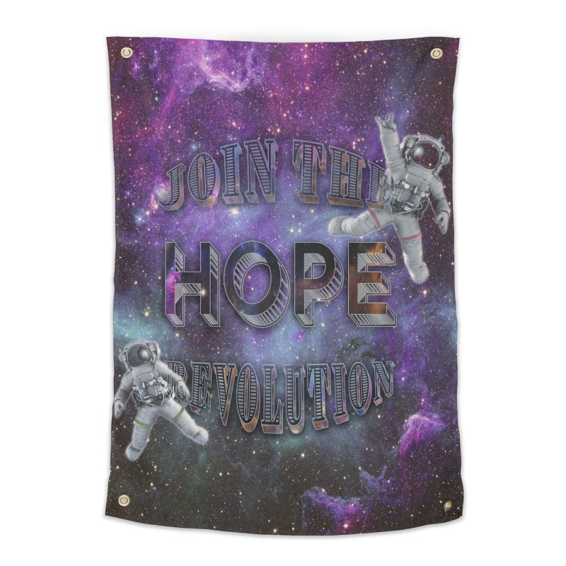 Hope Revolution. Home Tapestry by Andrea Snider's Artist Shop