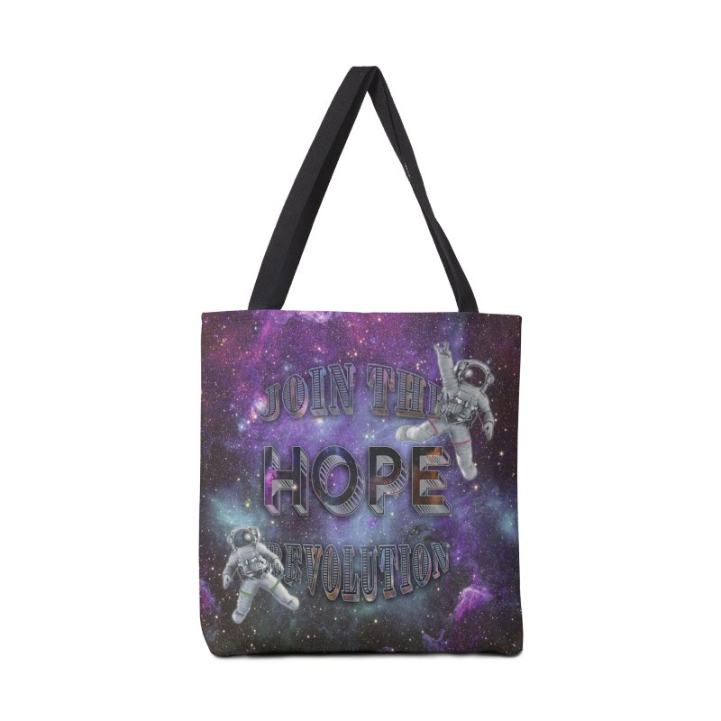 Hope Revolution. Accessories Bag by Andrea Snider's Artist Shop