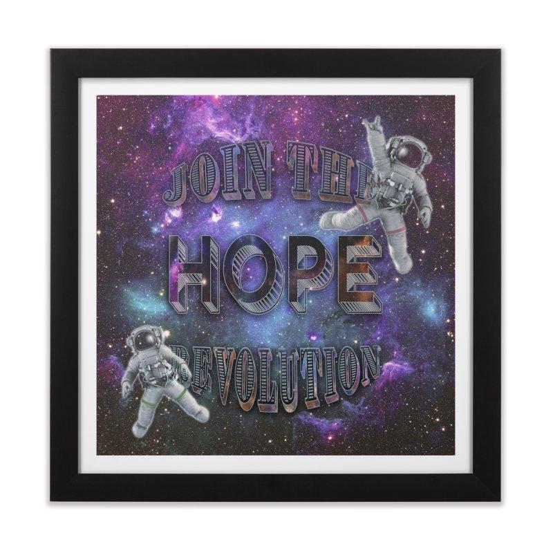 Hope Revolution. Home Framed Fine Art Print by Andrea Snider's Artist Shop