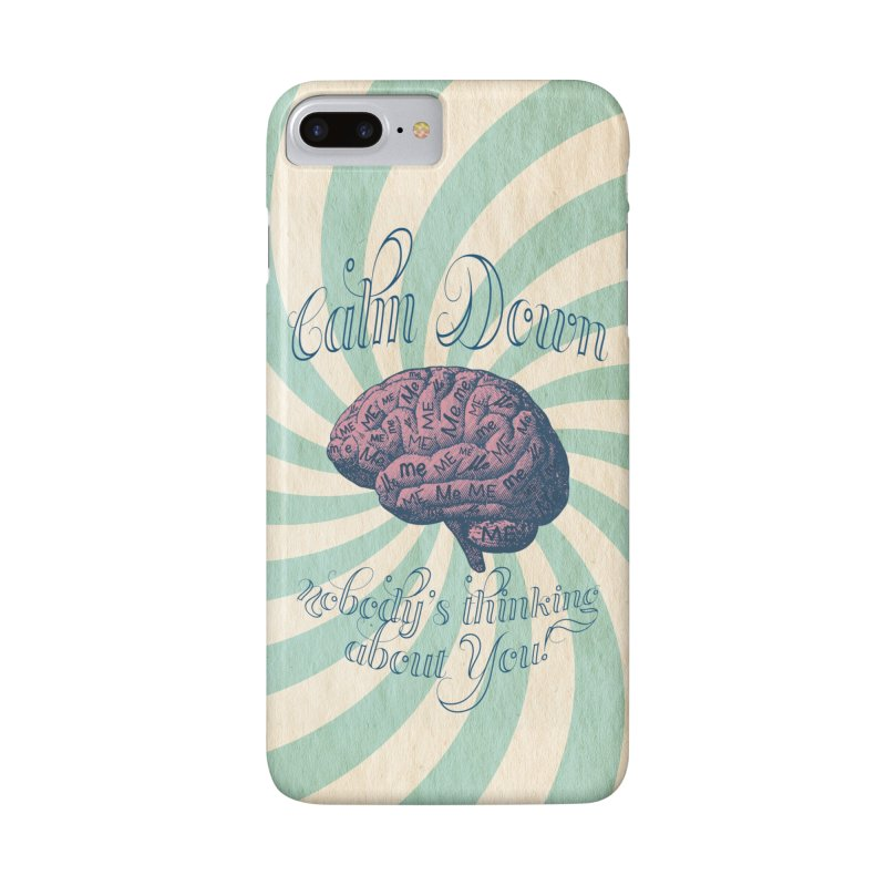 Calm Down. Accessories Phone Case by Andrea Snider's Artist Shop