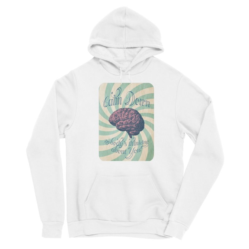 Calm Down. Women's Pullover Hoody by Andrea Snider's Artist Shop