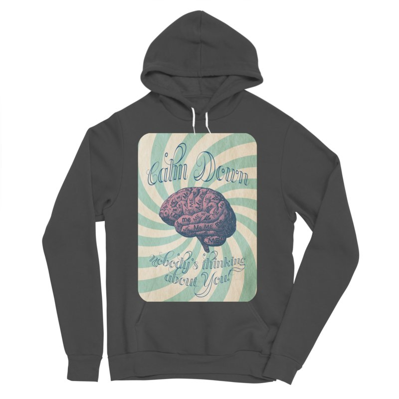 Calm Down. Women's Sponge Fleece Pullover Hoody by Andrea Snider's Artist Shop