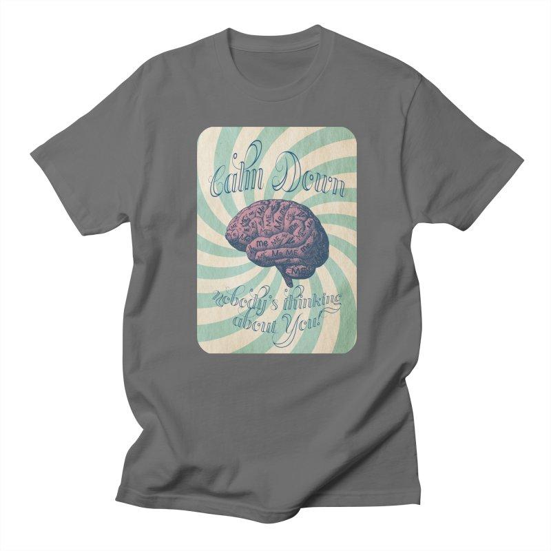 Calm Down. Men's T-Shirt by Andrea Snider's Artist Shop