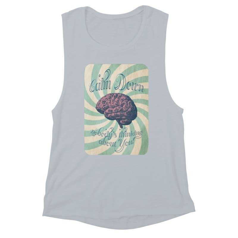 Calm Down. Women's Tank by Andrea Snider's Artist Shop