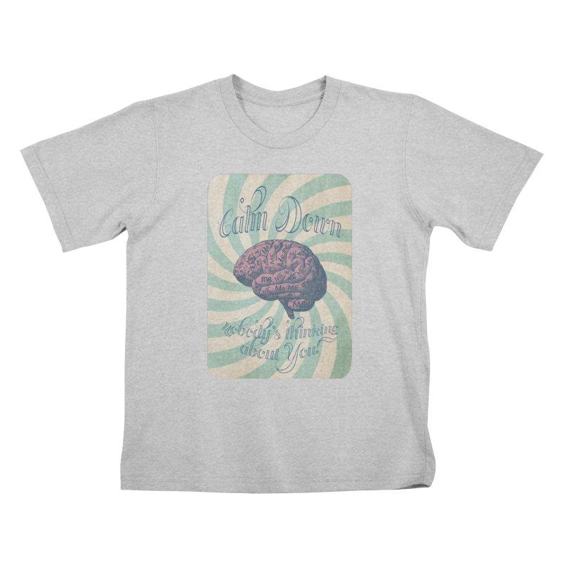 Calm Down. Kids T-Shirt by Andrea Snider's Artist Shop