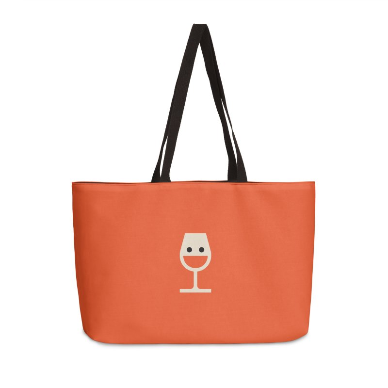 Wine-o, fine-o Accessories Bag by Andreas Wikström - Threadless artist shop